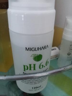 미구하라 애플 버블 폼 pH6.6 순해요 순해~~~ 착한 버블폼!