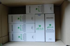 미구하라 애플 버블 폼 pH6.6 재 구매 했습니다.