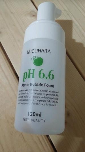 미구하라 애플 버블 폼 pH6.6 애플 버블 폼 pH6.6