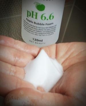 미구하라 애플 버블 폼 pH6.6 다른 제품과 틀린거 같아요.