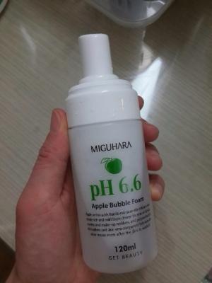 미구하라 애플 버블 폼 pH6.6 애플 버블 폼 후기