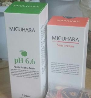 미구하라 애플 버블 폼 pH6.6 첫구매 완전만족~