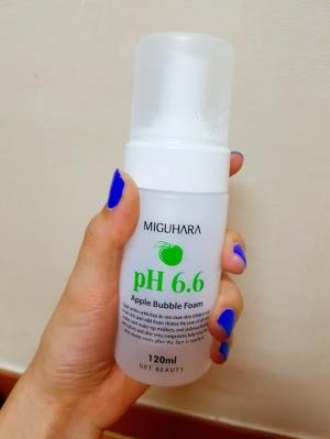 미구하라 애플 버블 폼 pH6.6 4번째 구매!