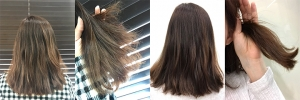 미구하라 실크 이펙트 헤어트리트먼트 부스스했던 머리카락이 차분해졌어요